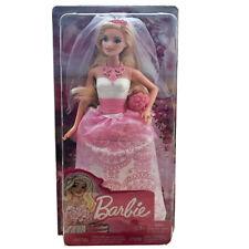 Barbie novia muñeca rubia anziehpuppe barbie boda barbie vestido de bodas