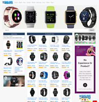 Ready Made Amazon Affiliate Smartwatch Store OR Any Niche + Installation