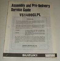 1990 SUZUKI VS1400 INTRUDER 1400  WIRING DIAGRAM & PRE-DELIVERY SERVICE GUIDE