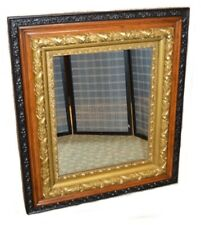 Vintage/Antique Oak Ornate Wall Mirror