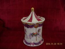 Merry-Go-Round Carousel Music Box Receiver Dish