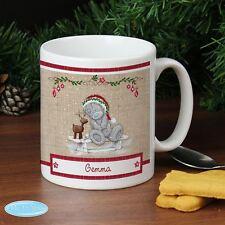 Me To You Personalised Reindeer Christmas Mug Gift Tatty Teddy