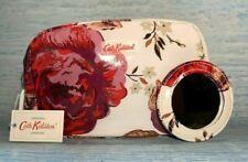 CATH KIDSTON Make-Up Case/Cosmetic Bag &Mirror Jacquard Rose-  GIFT