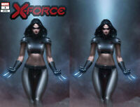 X-Force 1 DX Marvel 2019 NM Jeehyung Lee X-23 Wolverine Virgin Set Variant X-Men
