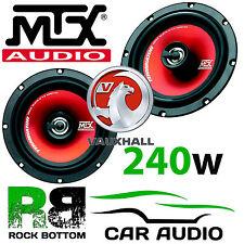Vauxhall Cavalier 17cm MTX 480 Watts Pair Front Door Car Speakers & Brackets Kit