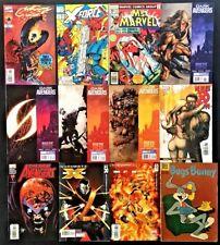 Comics lot of 12 Ghost Rider 93, X-force 4 Ms Marvel 12 Dark Avengers New X-men