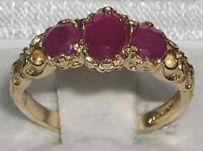 Natural Ruby Yellow Gold Fine Rings