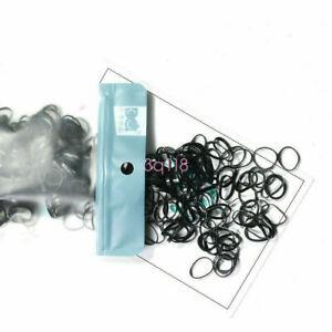 Clear 220/450pcs Ponytail Elastic Rubber Band Hair Ties Ropes Rings Ropes Rings