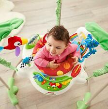 Fisher-Price Rainforest Jumperoo Baby Bouncer Jumping Exercise 3Dayship