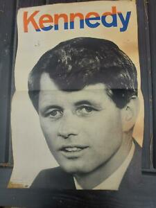 1968 Robert Kennedy For President Campaign  Poster