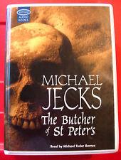 Michael Jecks The Butcher Of St Peters Knights Templar 10-Tape UNABR.Audio Book