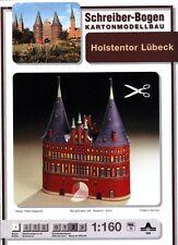 Schreiber-Bogen Kartonmodellbau Holstentor Lübeck