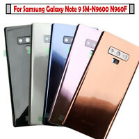 Battery Cover Back Glass Cover for Samsung Galaxy Note 9 N9600 SM-N9600 N960F