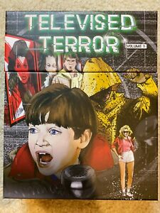 Televised Terror Vol 1 Blu Ray Vinegar Syndrome *BOX & CASES ONLY* NO DISCS