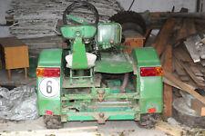 Oldtimer, Selbstbau-Traktor mit Trabi-Motor aus der DDR