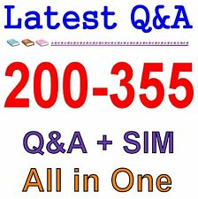 Cisco Best Practice Material For 200-355 Exam Q&A PDF+SIM