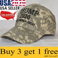 Trump 2020 MAGA Camo Embroidered Hat Keep Make America Great Again Cap Promotion