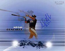 Adrian Gonzalez Autographed 8x10 Photo San Diego Padres