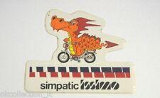 ADESIVO MOTO anni '80 / Old Sticker / Vintage ISSIMO FANTIC MOTOR (cm 11 x 9)