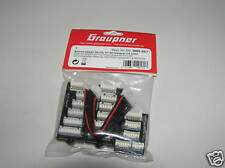 Graupner Lipo Balancer Adapter Set EH auf PQ / TP / XH