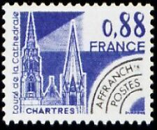 "FRANCE PREOBLITERE TIMBRE STAMP N°163 ""MONUMENTS, TOURS DE CHARTRES"" NEUF xx TTB"