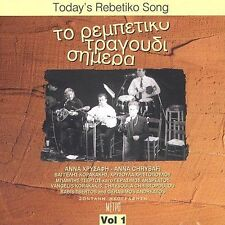 FREE US SHIP. on ANY 2 CDs! USED,MINT CD Various Artists: Today's Rebetiko Song
