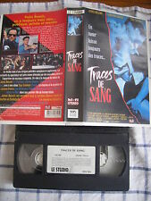 Traces De Sang de Andy Wolk, VHS Le Studio Canal, Policier