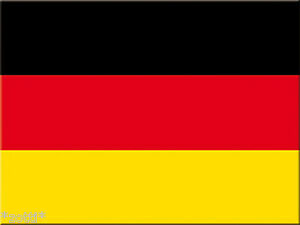 Nostalgic Art Germany Flag Alemania - Magnet - Kitchen Magnet*