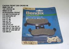 CAGIVA 250 HUSQVARNA 510 BENDIX DISC BRAKE PADS MA 108