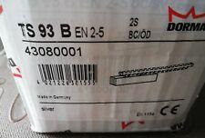 BOITIER DORMA TS 93 BS EN 2-5  SILVER  réf : 43080001