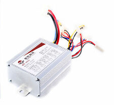 Electric Bicycle E-bike Scooter Brush DC Motor Speed Control Controller 24V 500W