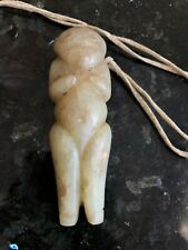 Antique Chinese Hand Carved Jade Human Figure