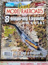 Model Railroader Train Magazine Great Railroads 1997 Inspiring Layouts