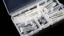 Eyeglass Sun Glasses Screw Nut Nose Pad Optical Repair Kit Tools #M1478 QL