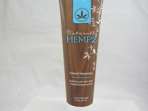 NATURALLY HEMPZ NATURAL MAXIMIZER TANNING LOTION