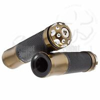 """Gray Recon Hand Grip 7//8/"""" Universal Grippy Handle Bar 22mm Left Right Front"""