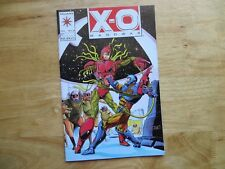 1993 VINTAGE VALIANT X-O-MANOWAR # 12 SIGNED TOM RYDER, WITH POA