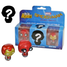 Spider-Man  & Iron Man Pint Size Heroes 3 Figure Pack Marvel Funko Official