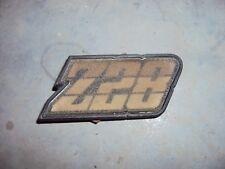 78-79-80-81 CAMARO Z28 TAIL LIGHT GAS DOOR EMBLEM