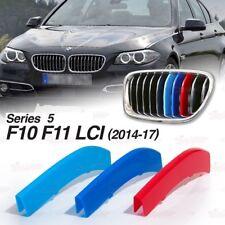 Caches Grilles Calandre M BMW Série 5 F10 F11 de 2014 a 2017