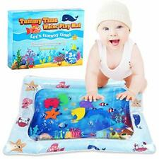 Inflatable Baby Water Mat Tummy Time for Infants and Toddlers Activity