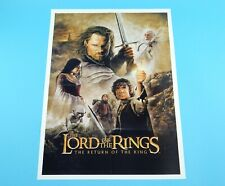 DOUBLE SIDED FOLDOUT POSTER LORD OF THE RINGS RETURN OF THE KING 2003 HITKRANT