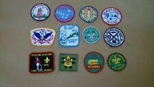 Lot of 12 Vintage Boy Scout Patches Vermont