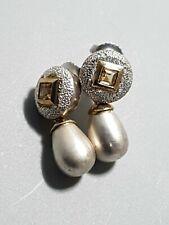 links of london 925 Hallmarked Silver Teardrop earrings