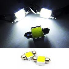 2x White COB LED DE3022 DE3175 for HONDA Interior Dome Light 31mm Festoon Bulb