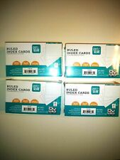 Pen Amp Gear Ruled Index Cards White Color 3 X 5 300 X 4packs Unopened