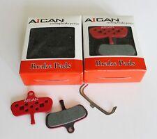 Aican Bike Bicycle MTB Disc Brake Pads For AVID Code 2010 Organic osm3, 2pcs
