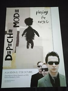 Depeche Mode Playing the Angel Spanish PROMO POSTER 30cm X 40cm