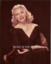 FRED ASTAIRE COSTAR GINGER ROGERS GORGEOUS HOLLYWOOD PORTRAIT #17