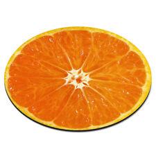 Arancione metà circolare Mousepad pc computer - FRUTTA DIVERTENTE FETTA ESTATE